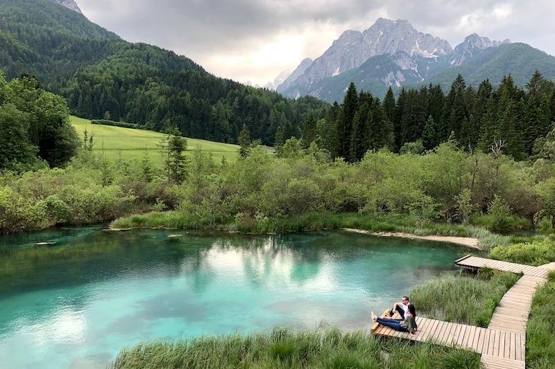 Zelenci Natuurreserve Kranjska Gora