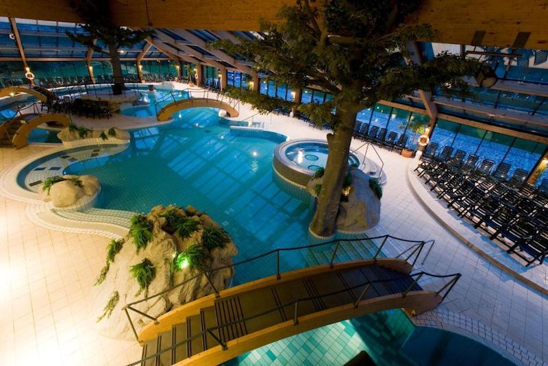sauna en zwembad bohinj