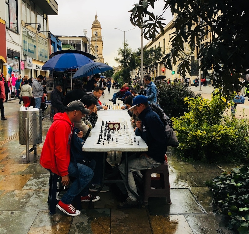 Bogota Rainy Chess