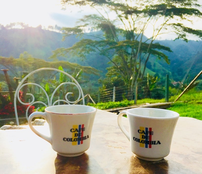 Koffie Salento Colombia