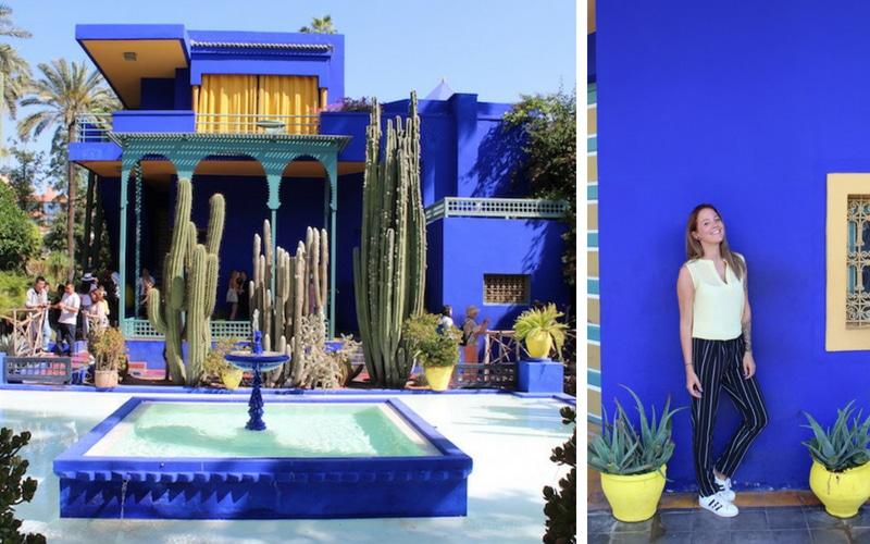 Marrakech le jardin majorelle ysl