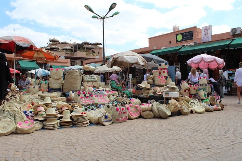 Marrakech shoppen souks