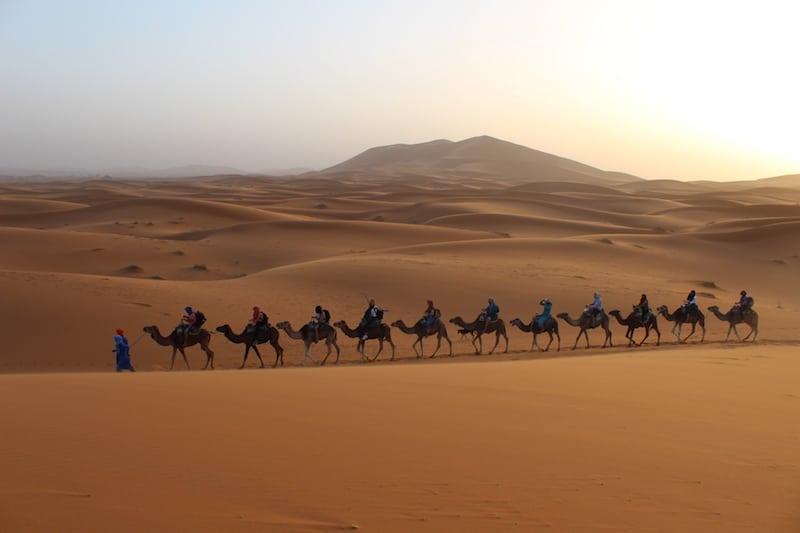 Marrakech woestijnsafari