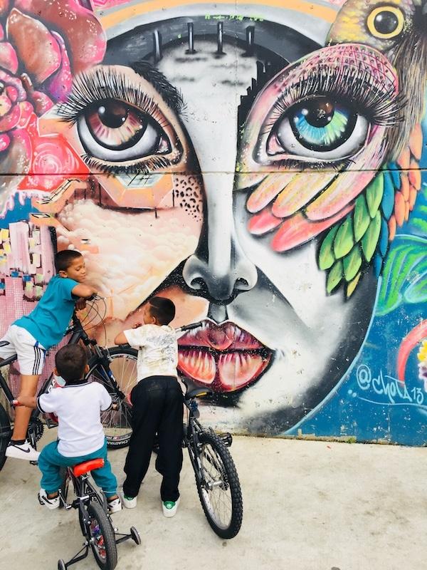 Medellin Urban graffiti