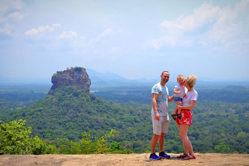 Sri Lanka met jonge kinderen