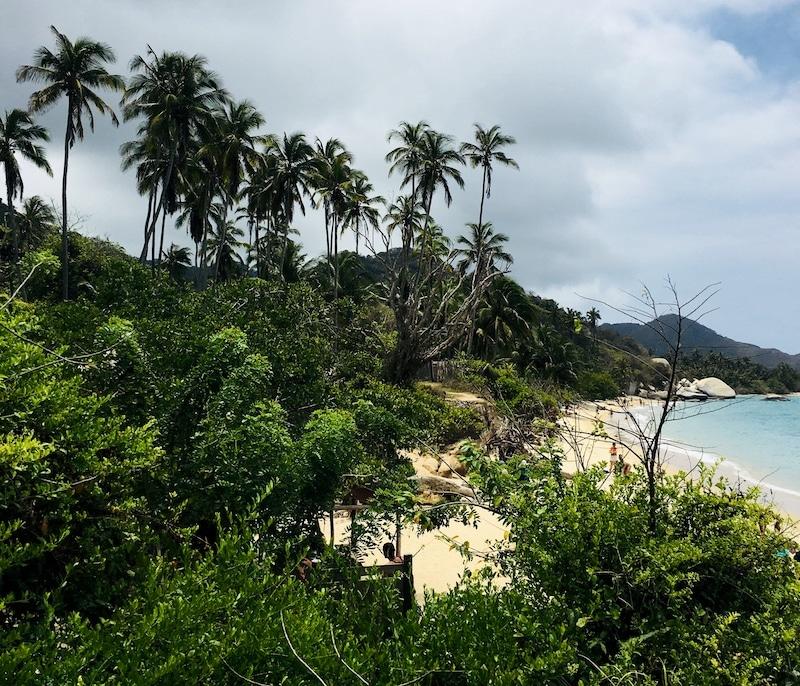 Tayrona stranden