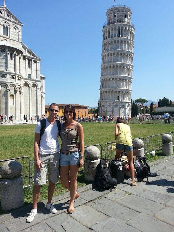 Toren van Pisa Italie