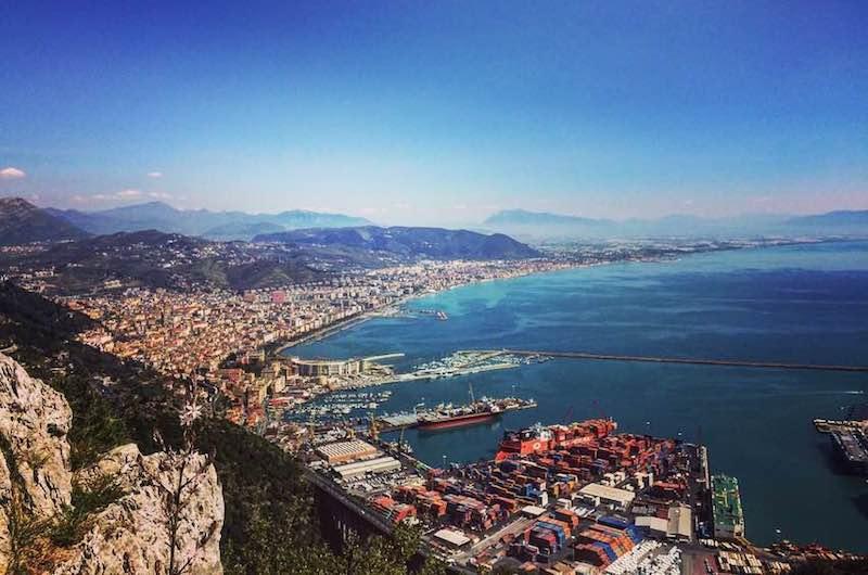 Salerno Italië vakantie