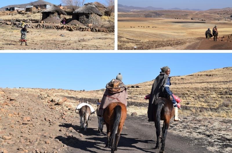 Lesotho en zuid afrika