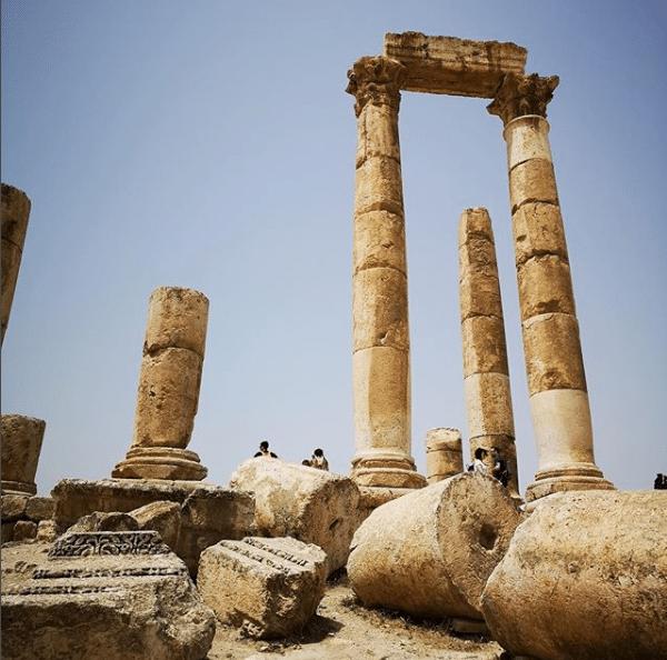 Amman - Citadel - Temple of Hercules