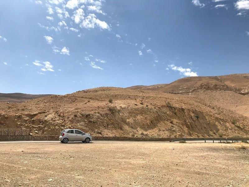 Huurauto jordanie