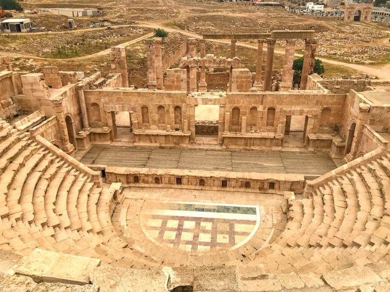 Jerash - Amphitheatre