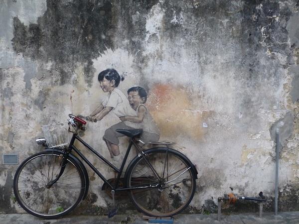 Street art george town maleisie