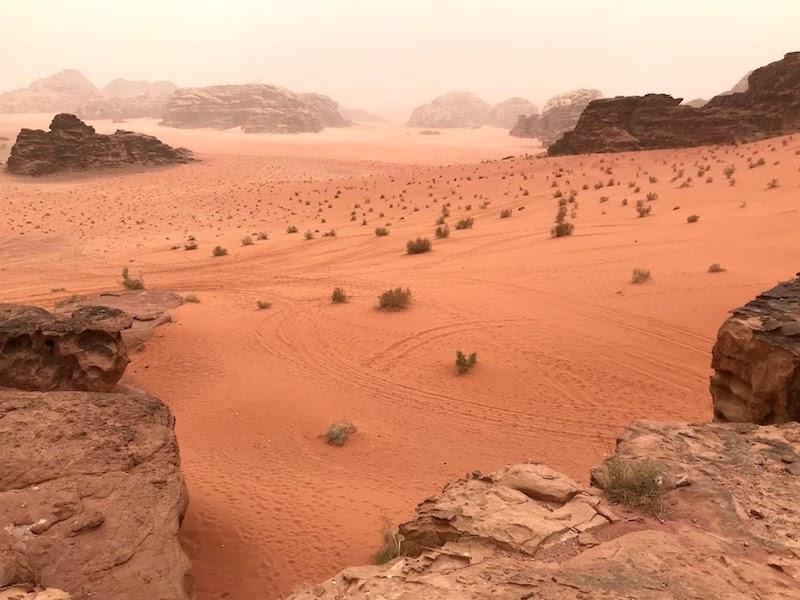Wadi Rum woestijn bezoeken