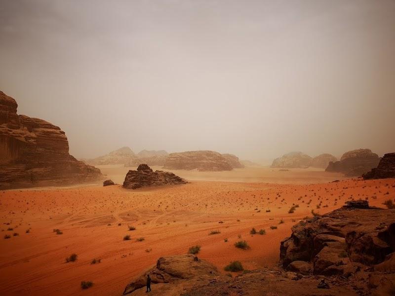 Wadi Rum woestijn overnachten