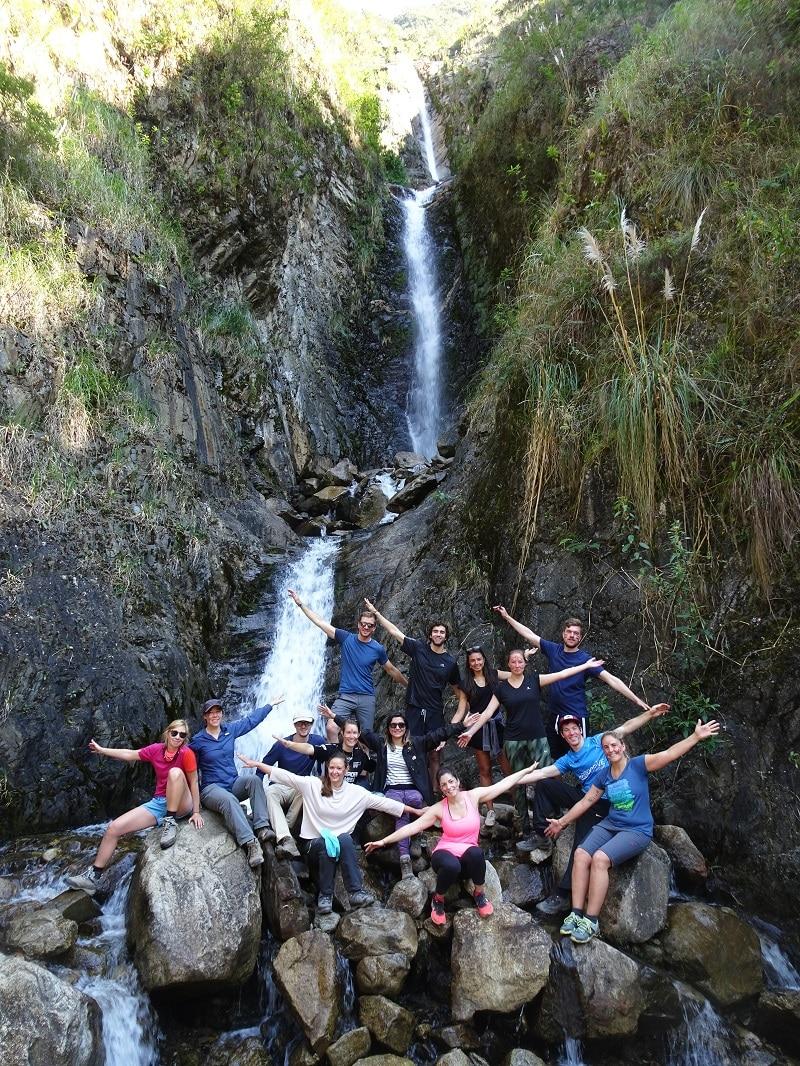 Waterval salkantay trek