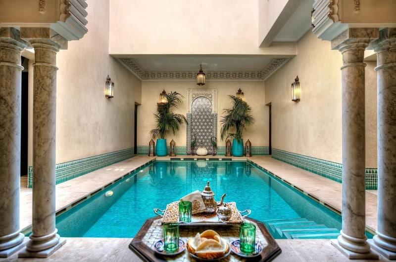 luxe overnachten in marrakech