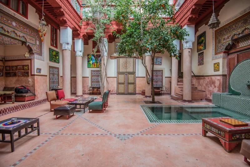 riad in medina marrakech