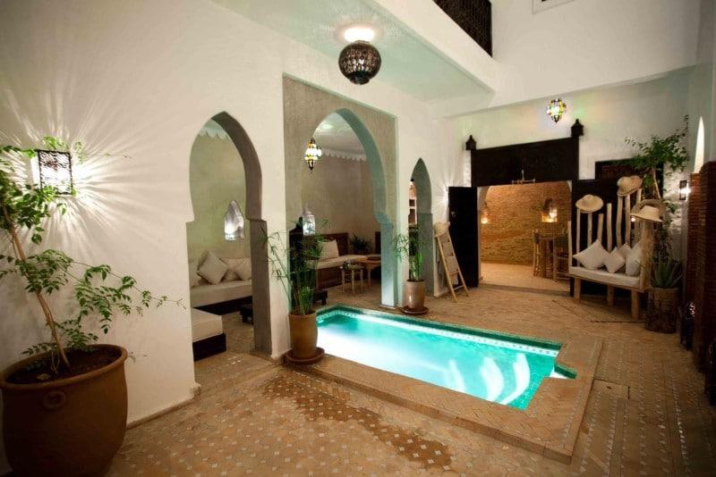 overnachten marrakech medina