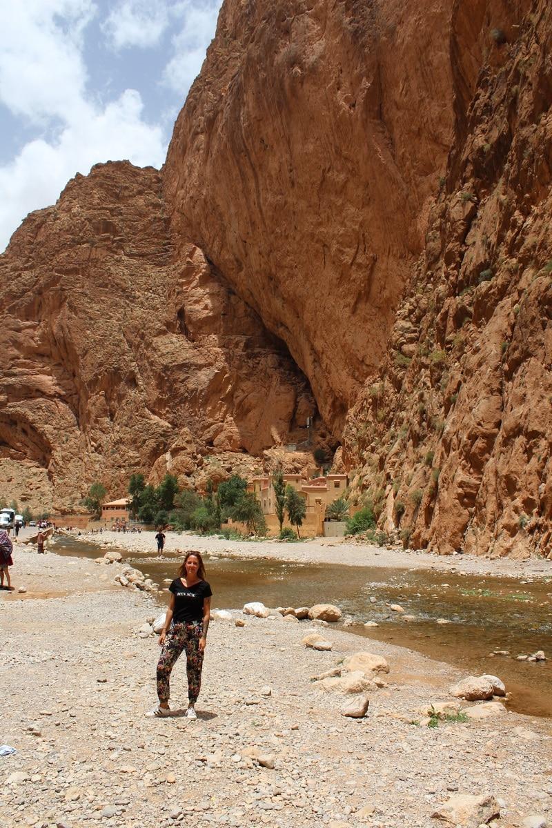 todra gorges kloof driedaagse woestijnsafar marokko