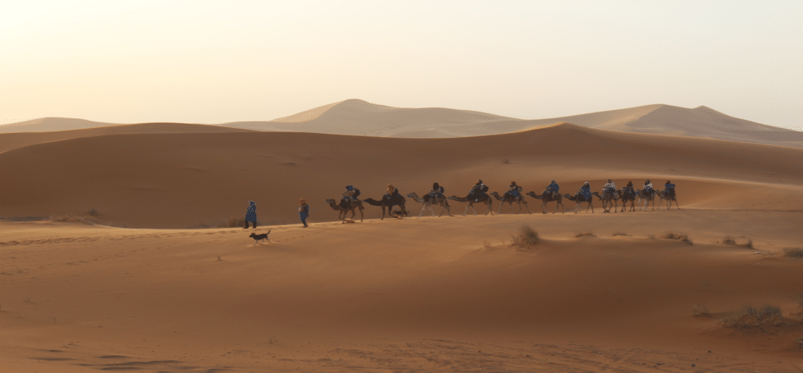 Marrakech driedaagse woestijnsafari merzouga