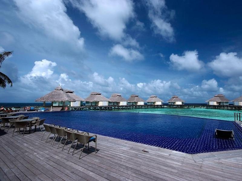 Luxe goedkoop overnachten resort Malediven