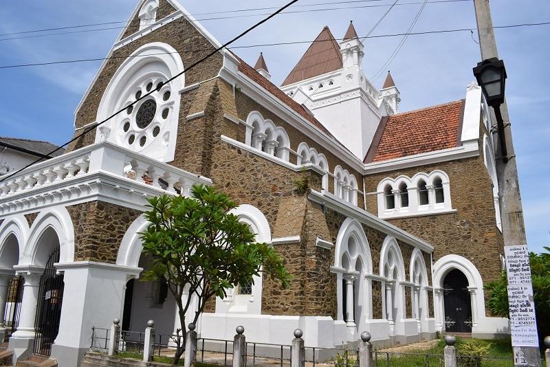 Galle Groote Nederlandse Kerk Sri Lanka bezienswaardigheden