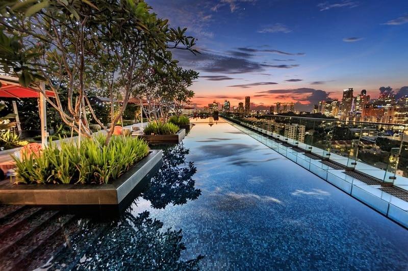 Singapore Infinity pool dak