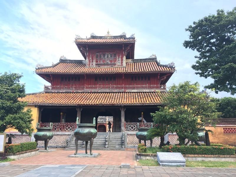 Hue Higthlights vietnam citadel bouwwerk
