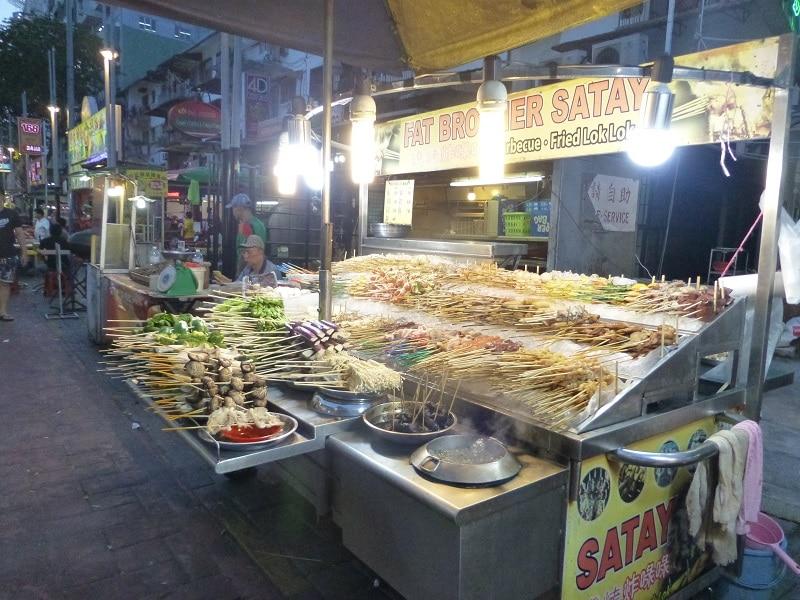 Jalan Alor streetfood Kuala lumpur