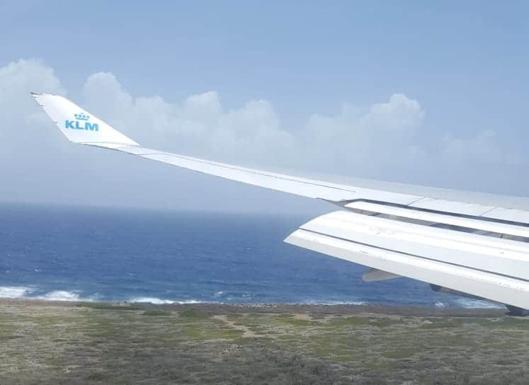 KLM vliegen