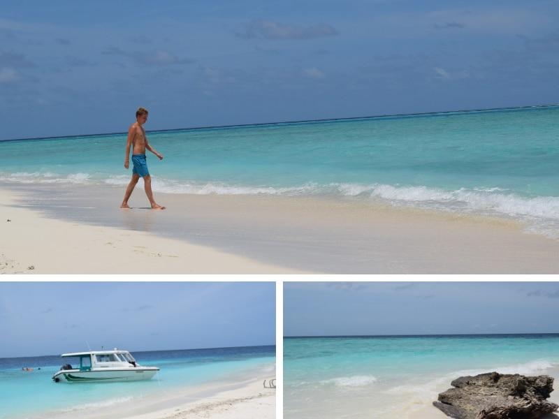 Excursie activiteiten malediven zandbank