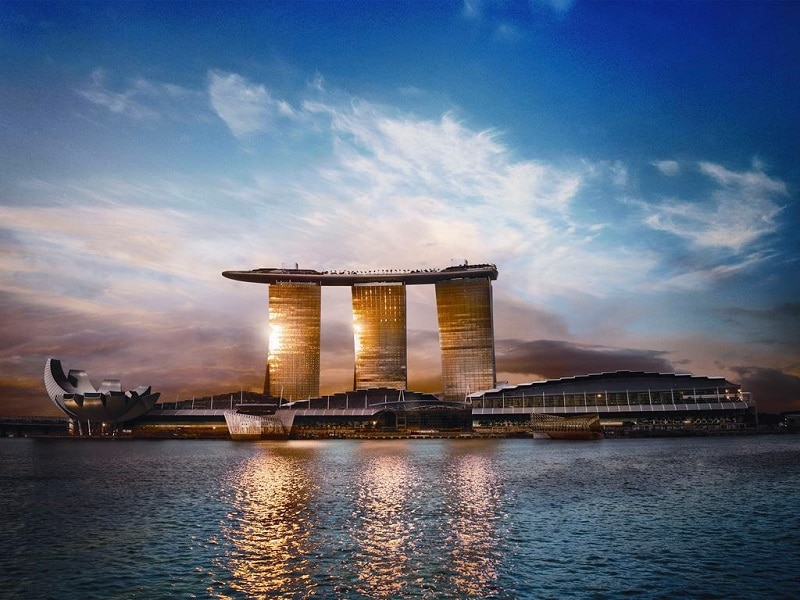 Marina Bay Sands Singapore luxe hotel
