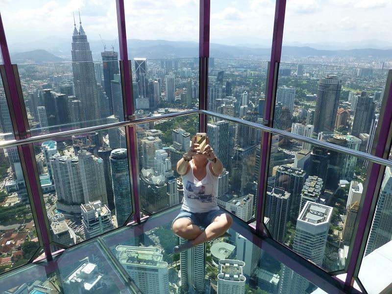 Menara sky box sky deck skyline Kuala Lumpur