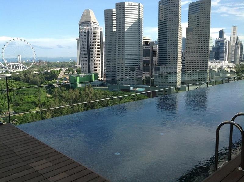 Zwembad dak Singapore