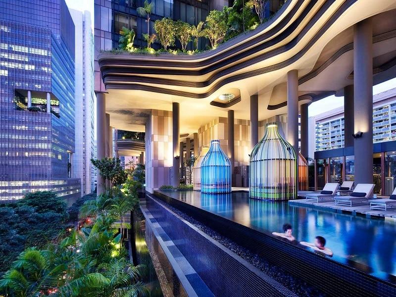 Bijzonder overnachten Singapore luxe