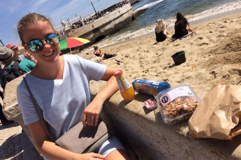 Picknicken bij Taag