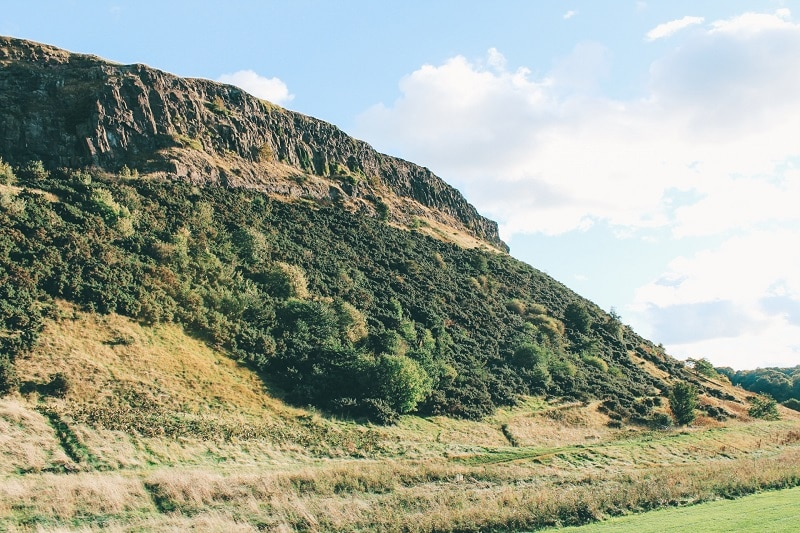schotland tips edinburgh arthurs seat