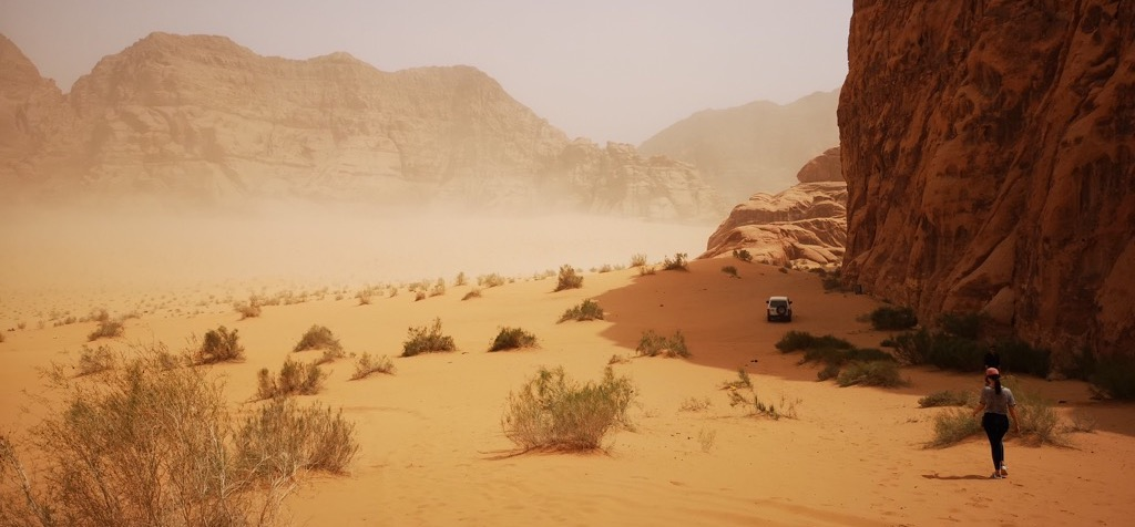 Tour wadi rum woestijn jordanie tips