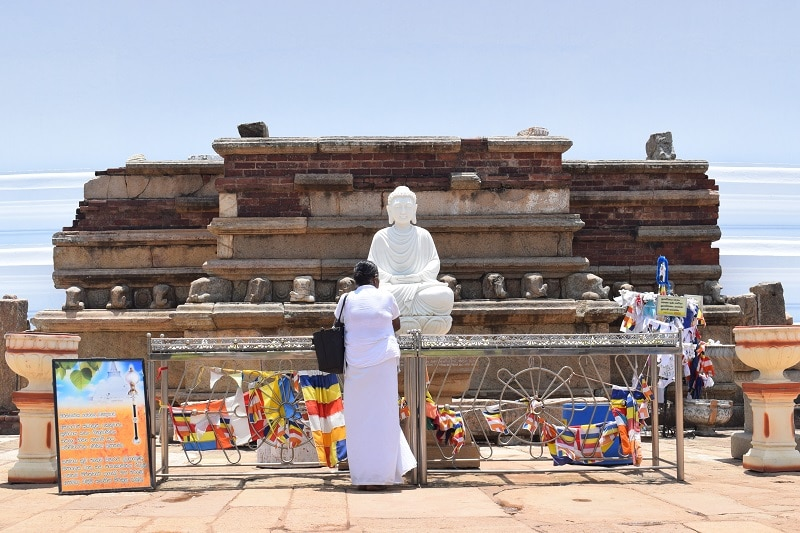 Anuadhapura tempel zien in sri lanka