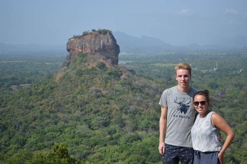 Piduangala rock lion rock highlights sri lanka