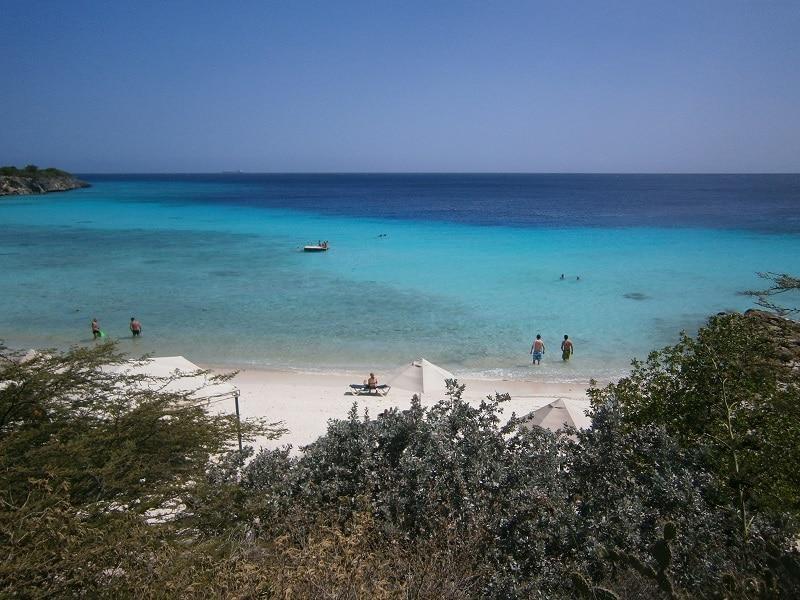 Snorkel strand playa Porto Marie