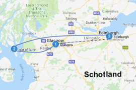 roadtrip schotland auto