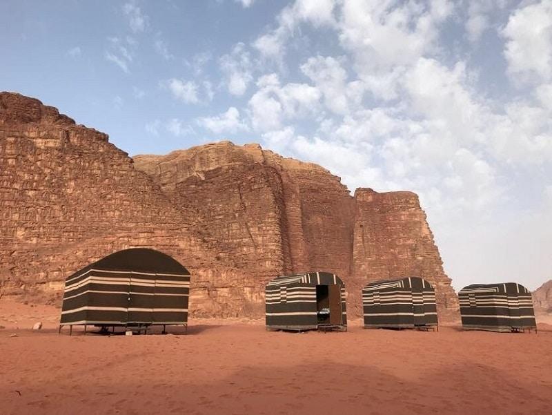 tentenkamp Wadi Rum overnachten