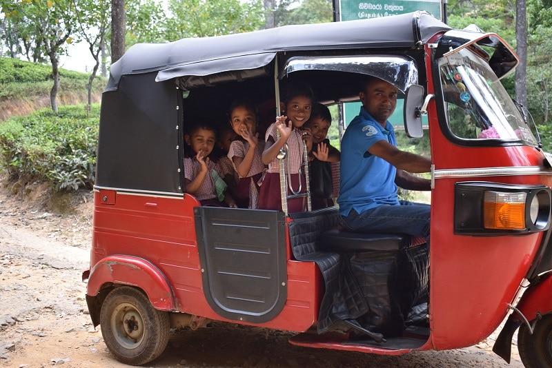 Sri Lanka Highlights lokale bevolking