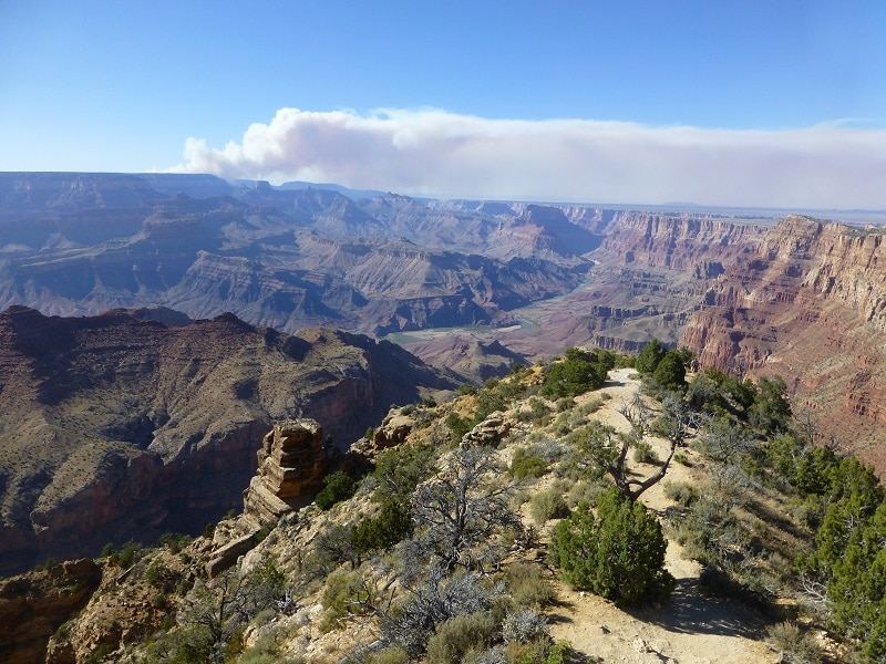 Grand Canyon vanuit Las Vegas