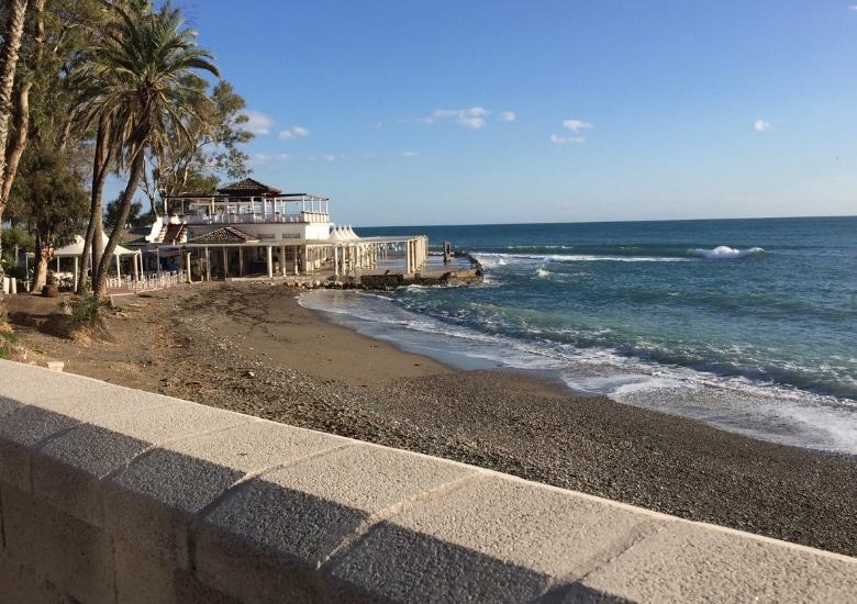 Malaga strand restaurant