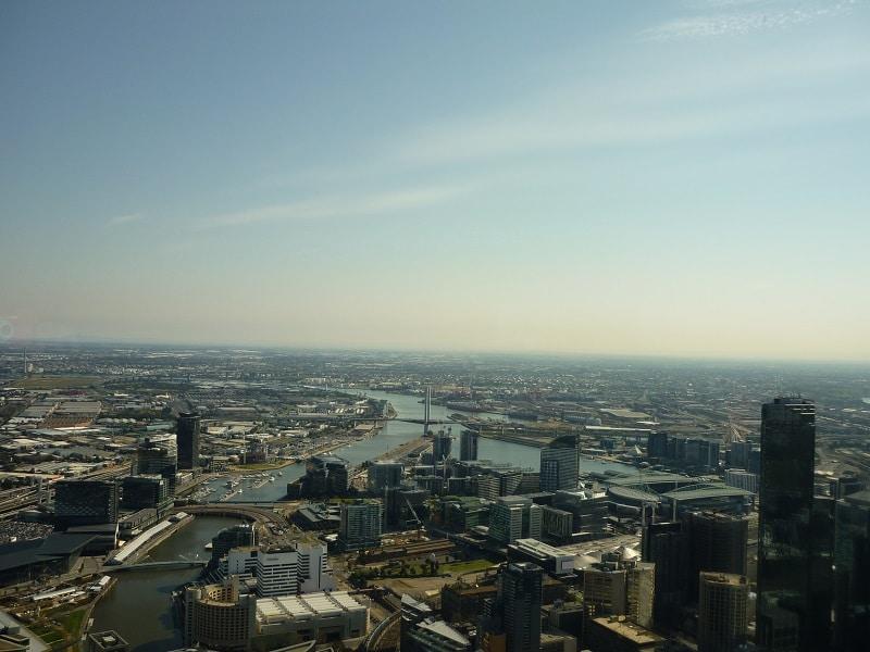 Melbourne, Australië, Eureka Skydeck