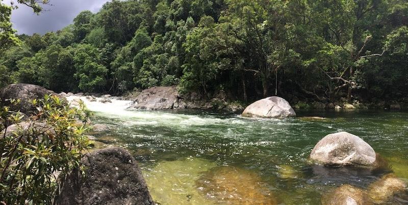 Australië zwemmen in natuur