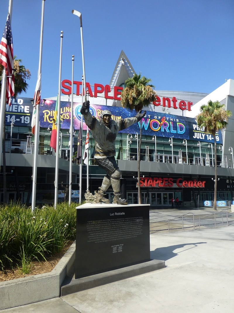 Los Angeles basketbal LA Lakers